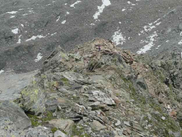 Foto: Manfred Karl / Wander Tour / Klettersteigdreitausender über dem Halsljoch / 31.08.2009 16:14:15