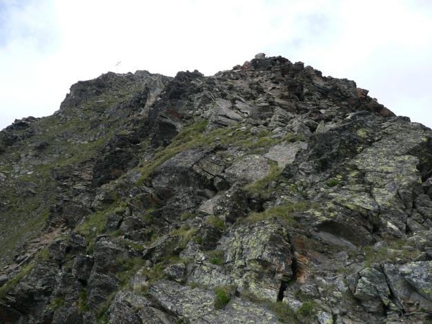 Foto: Manfred Karl / Wander Tour / Klettersteigdreitausender über dem Halsljoch / 31.08.2009 16:14:01