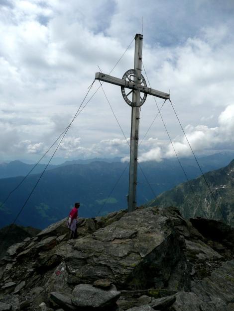 Foto: Manfred Karl / Wander Tour / Klettersteigdreitausender über dem Halsljoch / 31.08.2009 16:13:22