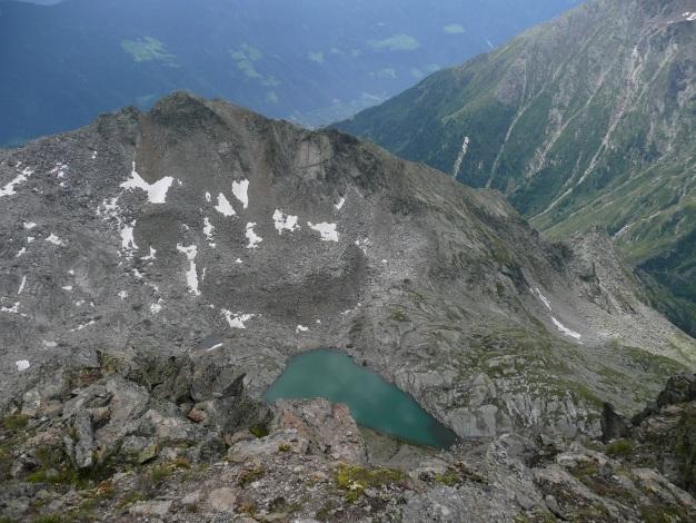 Foto: Manfred Karl / Wander Tour / Klettersteigdreitausender über dem Halsljoch / Tablander Lacken / 31.08.2009 16:13:12