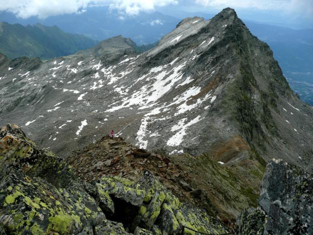 Foto: Manfred Karl / Wander Tour / Klettersteigdreitausender über dem Halsljoch / 31.08.2009 16:12:39
