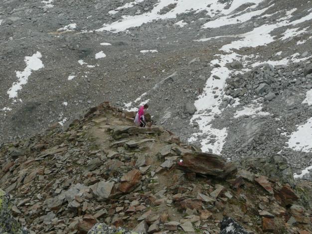 Foto: Manfred Karl / Wander Tour / Klettersteigdreitausender über dem Halsljoch / 31.08.2009 16:12:22