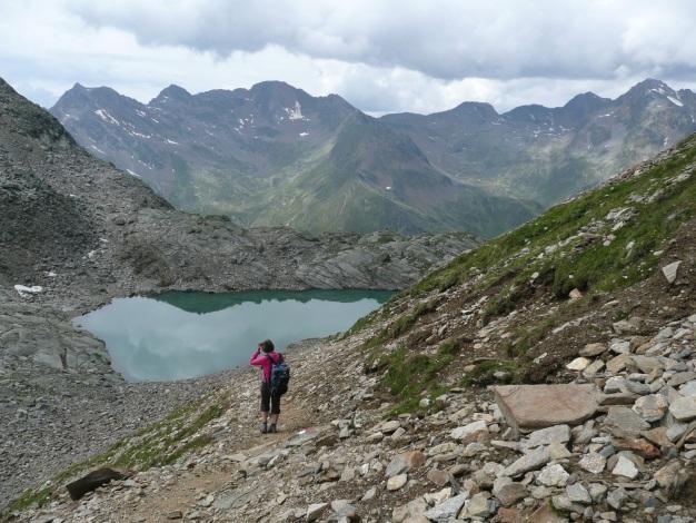 Foto: Manfred Karl / Wander Tour / Klettersteigdreitausender über dem Halsljoch / Tablander Lacken / 31.08.2009 16:09:27