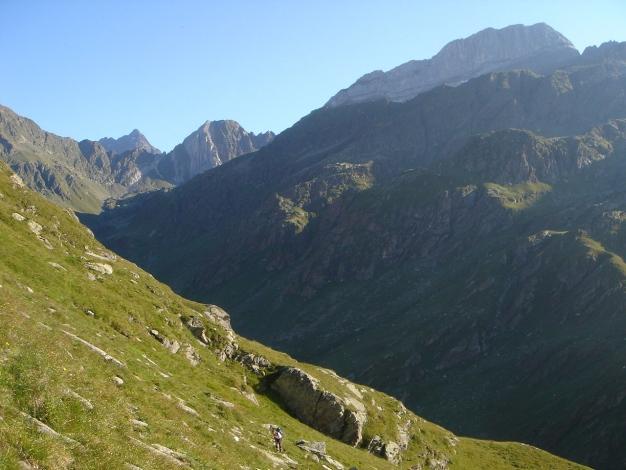 Foto: Manfred Karl / Wander Tour / Eindrucksvoller Dreitausender über dem Vinschgau / 31.08.2009 16:31:09