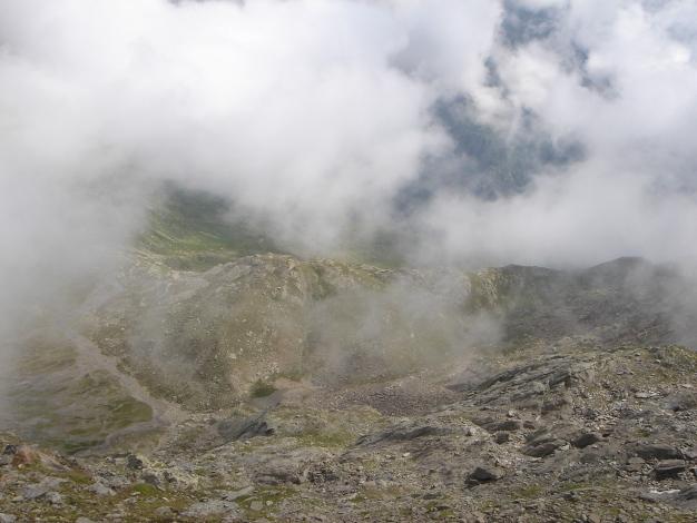 Foto: Manfred Karl / Wander Tour / Eindrucksvoller Dreitausender über dem Vinschgau / 31.08.2009 16:25:20