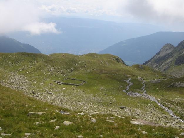 Foto: Manfred Karl / Wander Tour / Eindrucksvoller Dreitausender über dem Vinschgau / 31.08.2009 16:24:42