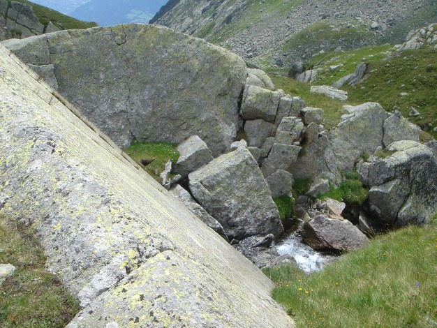 Foto: Manfred Karl / Wander Tour / Eindrucksvoller Dreitausender über dem Vinschgau / 31.08.2009 16:23:29