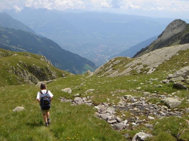 Foto: Manfred Karl / Wander Tour / Eindrucksvoller Dreitausender über dem Vinschgau / 31.08.2009 16:23:19
