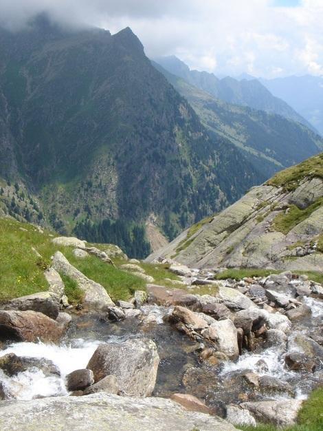 Foto: Manfred Karl / Wander Tour / Eindrucksvoller Dreitausender über dem Vinschgau / 31.08.2009 16:23:08