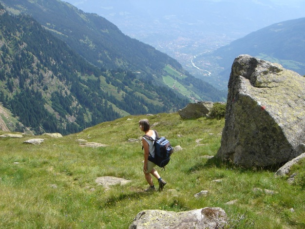 Foto: Manfred Karl / Wander Tour / Eindrucksvoller Dreitausender über dem Vinschgau / 31.08.2009 16:22:45