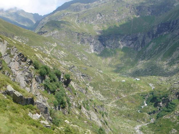 Foto: Manfred Karl / Wander Tour / Eindrucksvoller Dreitausender über dem Vinschgau / Ginglalm / 31.08.2009 16:22:33