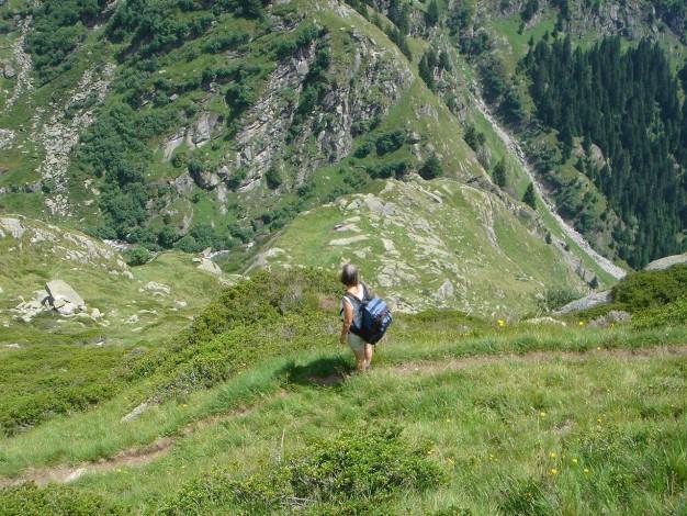 Foto: Manfred Karl / Wander Tour / Eindrucksvoller Dreitausender über dem Vinschgau / 31.08.2009 16:22:17