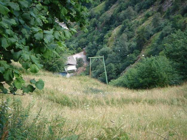 Foto: Manfred Karl / Wander Tour / Eindrucksvoller Dreitausender über dem Vinschgau / Gasthaus Wasserfall / 31.08.2009 16:19:03