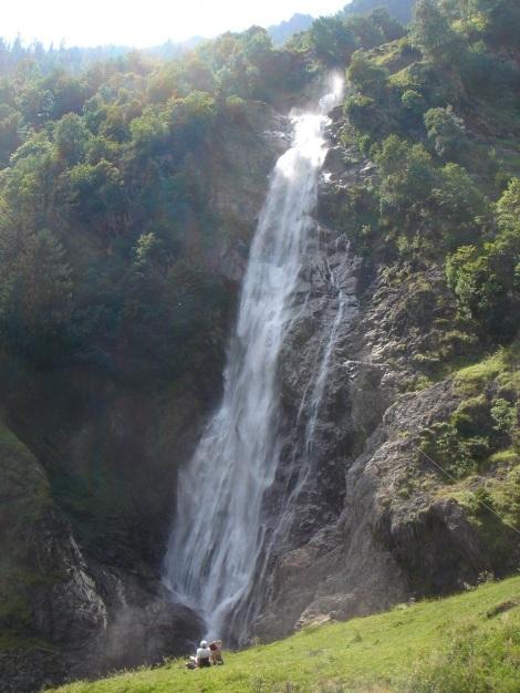 Foto: Manfred Karl / Wander Tour / Eindrucksvoller Dreitausender über dem Vinschgau / Partschinser Wasserfall / 31.08.2009 16:18:01