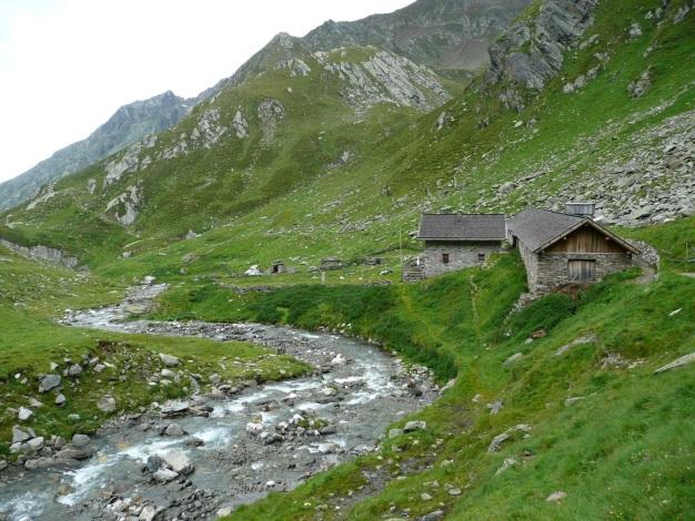 Foto: Manfred Karl / Wander Tour / Einsamer Dreitausender von der Lodnerhütte / Zielalm - ein gemütliches Quartier / 31.08.2009 16:04:52