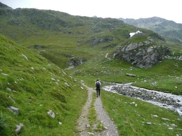 Foto: Manfred Karl / Wander Tour / Einsamer Dreitausender von der Lodnerhütte / 31.08.2009 16:04:27