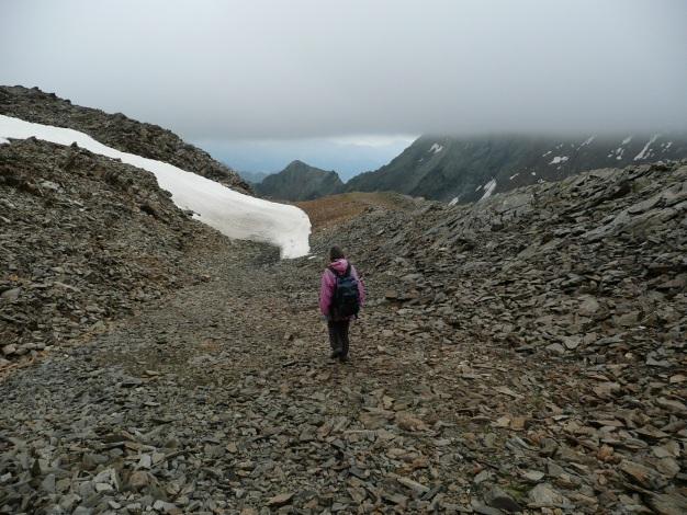 Foto: Manfred Karl / Wander Tour / Einsamer Dreitausender von der Lodnerhütte / Leider erwischt uns der Regen / 31.08.2009 15:58:01