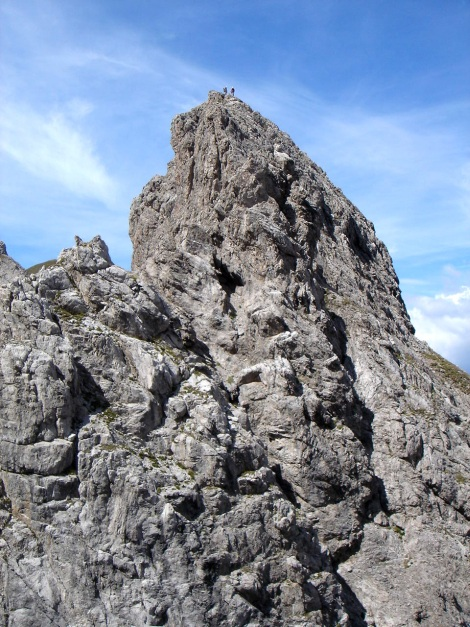 Foto: Manfred Karl / Klettersteig Tour / Kerschbaumer Törlspitz Südostgrat Klettersteig / 31.08.2009 20:38:17