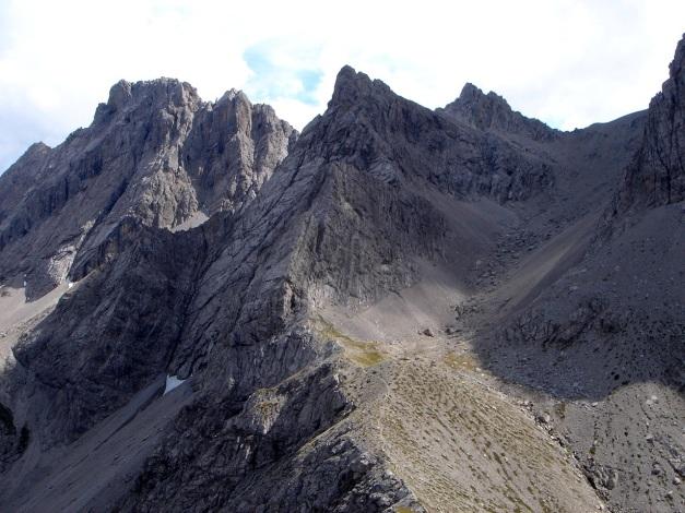 Foto: Manfred Karl / Klettersteig Tour / Kerschbaumer Törlspitz Südostgrat Klettersteig / Seekofel - Teplitzer Spitzen / 31.08.2009 20:37:48