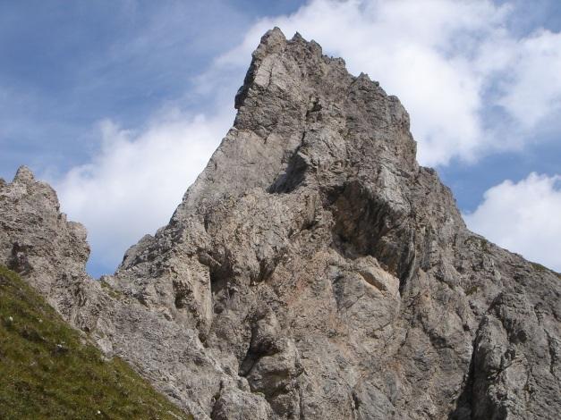 Foto: Manfred Karl / Klettersteig Tour / Kerschbaumer Törlspitz Südostgrat Klettersteig / Ein toller Spitz - der Törlspitz / 31.08.2009 20:36:42