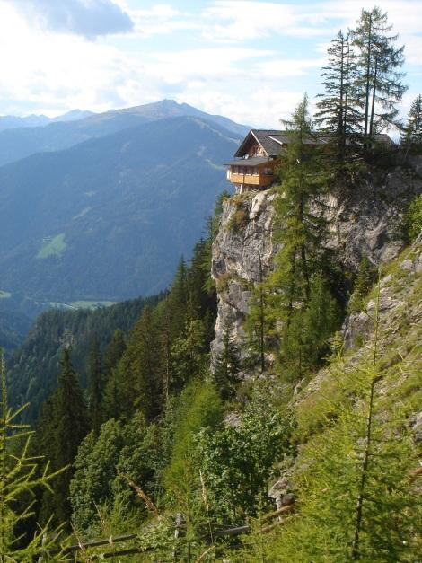 Foto: Manfred Karl / Klettersteig Tour / Kerschbaumer Törlspitz Südostgrat Klettersteig / Dolomitenhütte / 31.08.2009 20:33:58
