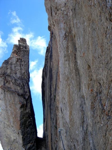 Foto: Manfred Karl / Klettersteig Tour / Greitspitz und Flimspitze - zwei kurze Klettersteige über der Idalpe / 22.11.2012 20:39:32