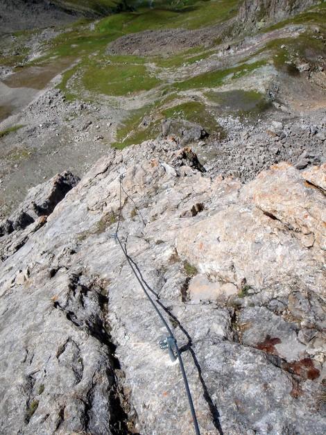 Foto: Manfred Karl / Klettersteig Tour / Greitspitz und Flimspitze - zwei kurze Klettersteige über der Idalpe / 22.11.2012 20:39:18