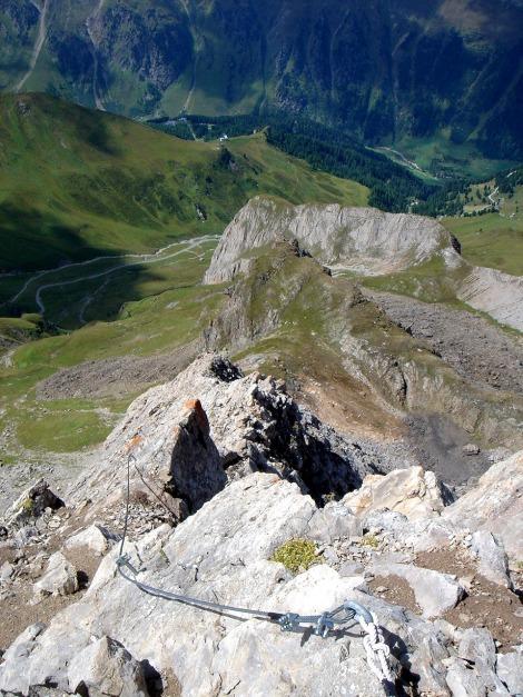 Foto: Manfred Karl / Klettersteig Tour / Greitspitz und Flimspitze - zwei kurze Klettersteige über der Idalpe / 22.11.2012 20:39:07