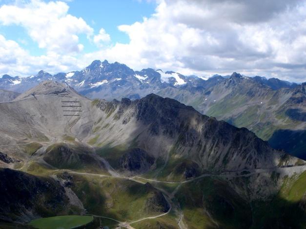 Foto: Manfred Karl / Klettersteig Tour / Greitspitz und Flimspitze - zwei kurze Klettersteige über der Idalpe / Fluchthörner / 22.11.2012 20:38:59