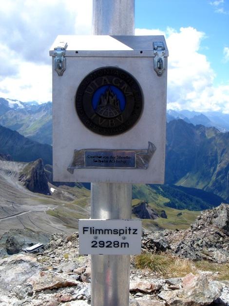 Foto: Manfred Karl / Klettersteig Tour / Greitspitz und Flimspitze - zwei kurze Klettersteige über der Idalpe / 22.11.2012 20:36:02
