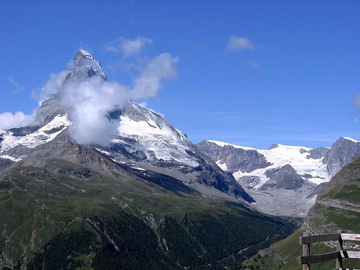 Foto: Andreas Koller / Wander Tour / Wanderdreitausender Oberrothorn (3415 m) / 05.09.2009 00:24:09