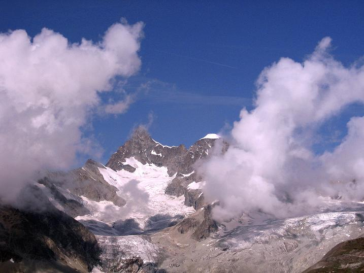 Foto: Andreas Koller / Wander Tour / Wanderdreitausender Oberrothorn (3415 m) / 05.09.2009 00:24:22