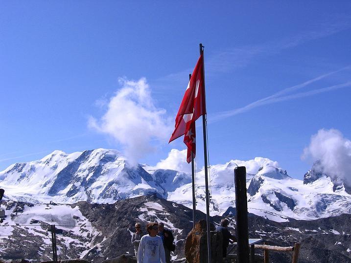 Foto: Andreas Koller / Wander Tour / Wanderdreitausender Oberrothorn (3415 m) / 05.09.2009 00:24:00