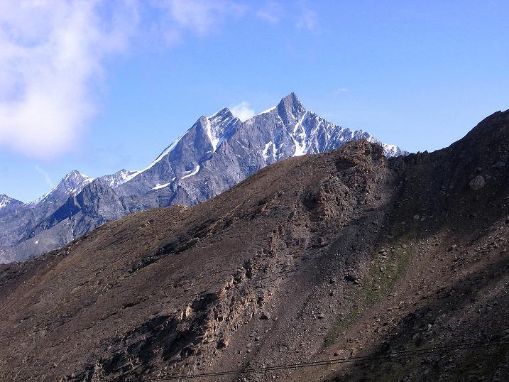 Foto: Andreas Koller / Wander Tour / Wanderdreitausender Oberrothorn (3415 m) / Täschhorn (4491 m) und Dom (4545 m) / 05.09.2009 00:22:35