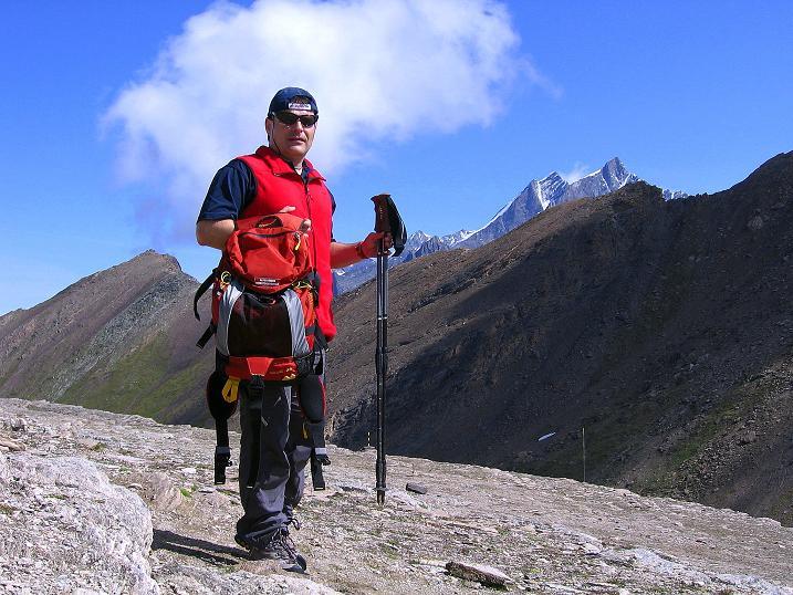 Foto: Andreas Koller / Wander Tour / Wanderdreitausender Oberrothorn (3415 m) / 05.09.2009 00:21:48