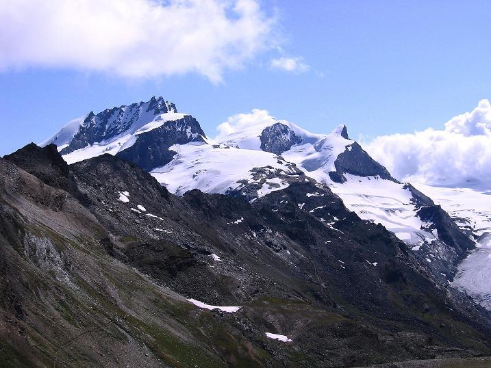 Foto: Andreas Koller / Wander Tour / Wanderdreitausender Oberrothorn (3415 m) / 05.09.2009 00:21:39