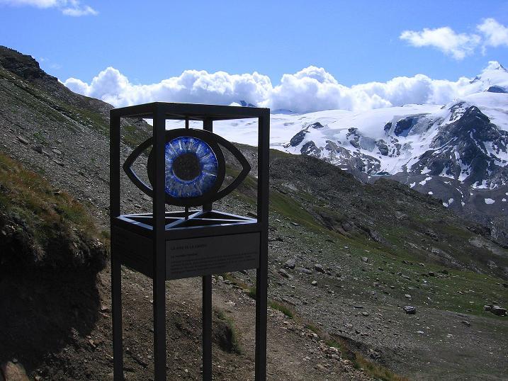 Foto: Andreas Koller / Wander Tour / Wanderdreitausender Oberrothorn (3415 m) / Hier beginnt der