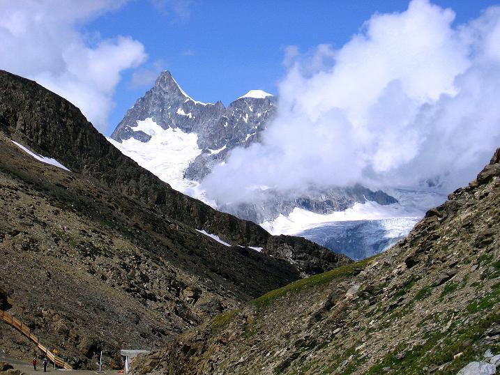 Foto: Andreas Koller / Wander Tour / Wanderdreitausender Oberrothorn (3415 m) / 05.09.2009 00:20:49