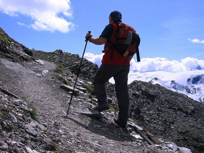 Foto: Andreas Koller / Wander Tour / Wanderdreitausender Oberrothorn (3415 m) / 05.09.2009 00:20:41