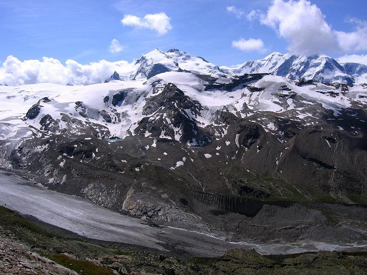 Foto: Andreas Koller / Wander Tour / Wanderdreitausender Oberrothorn (3415 m) / 05.09.2009 00:20:03