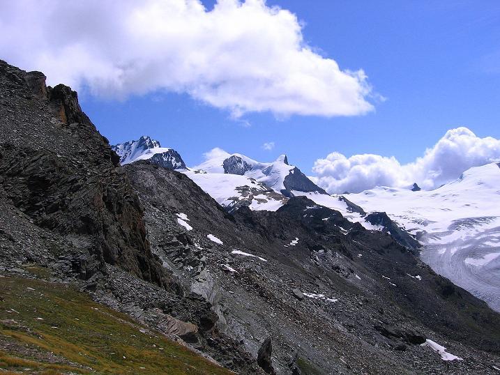 Foto: Andreas Koller / Wander Tour / Wanderdreitausender Oberrothorn (3415 m) / 05.09.2009 00:19:56