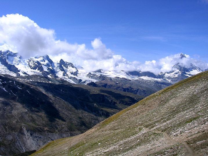 Foto: Andreas Koller / Wander Tour / Wanderdreitausender Oberrothorn (3415 m) / 05.09.2009 00:19:23