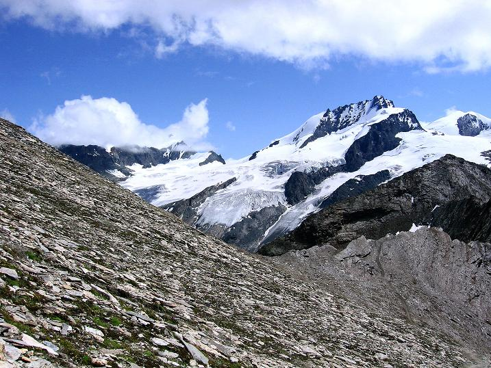 Foto: Andreas Koller / Wander Tour / Wanderdreitausender Oberrothorn (3415 m) / 05.09.2009 00:19:17