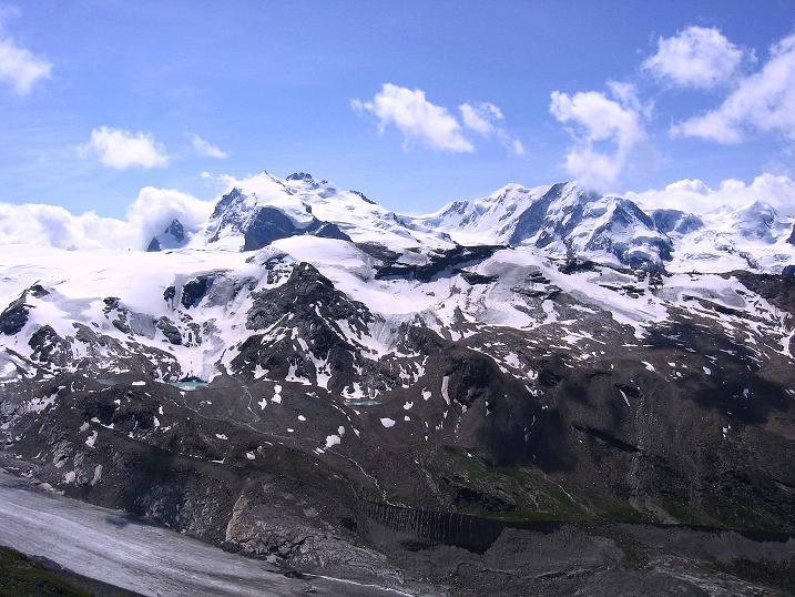 Foto: Andreas Koller / Wander Tour / Wanderdreitausender Oberrothorn (3415 m) / 05.09.2009 00:18:30