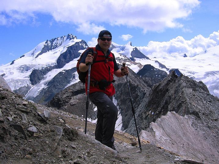 Foto: Andreas Koller / Wander Tour / Wanderdreitausender Oberrothorn (3415 m) / 05.09.2009 00:18:06