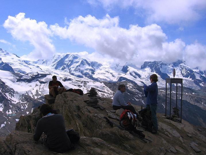 Foto: Andreas Koller / Wander Tour / Wanderdreitausender Oberrothorn (3415 m) / 05.09.2009 00:17:25