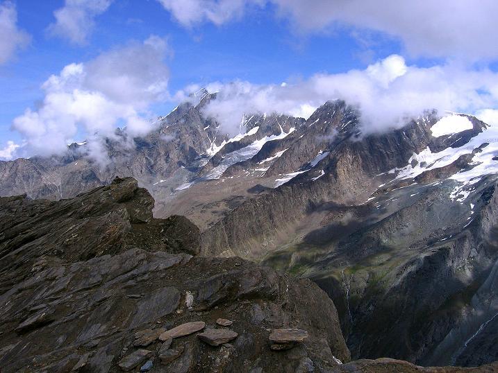 Foto: Andreas Koller / Wander Tour / Wanderdreitausender Oberrothorn (3415 m) / 05.09.2009 00:17:09