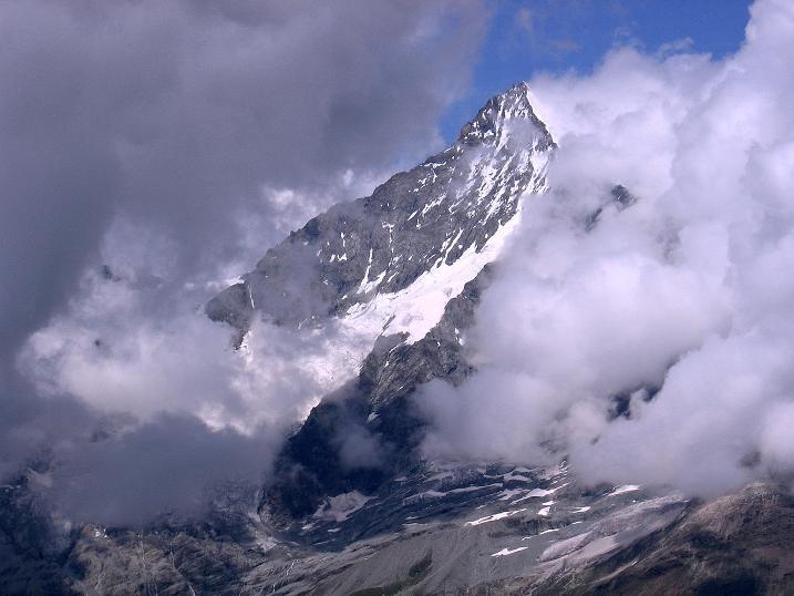 Foto: Andreas Koller / Wander Tour / Wanderdreitausender Oberrothorn (3415 m) / 05.09.2009 00:15:14
