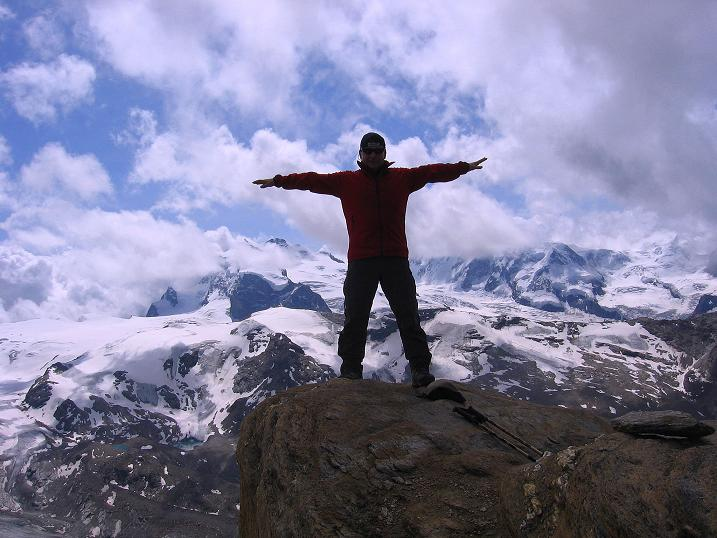 Foto: Andreas Koller / Wander Tour / Wanderdreitausender Oberrothorn (3415 m) / 05.09.2009 00:15:07