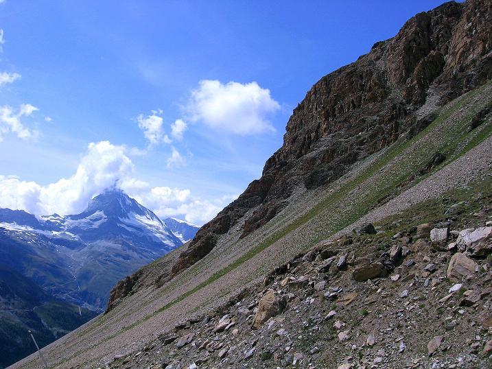 Foto: Andreas Koller / Wander Tour / Wanderdreitausender Oberrothorn (3415 m) / 05.09.2009 00:14:59